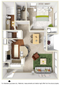 Blue Bonnet floor plan